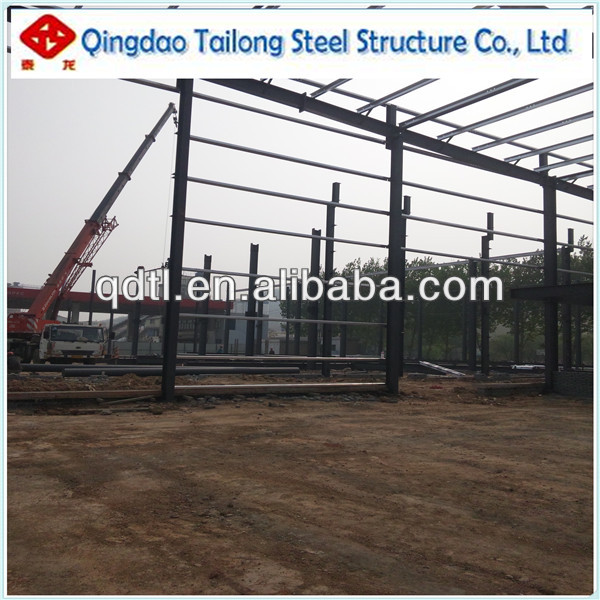 prefabricated steel structure workshop/warehouse/building/villa -Made in China