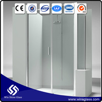 tempered glass shower wall panels manufacturer