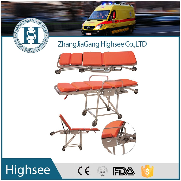Hospital Medical Ambulance Folding Stretcher