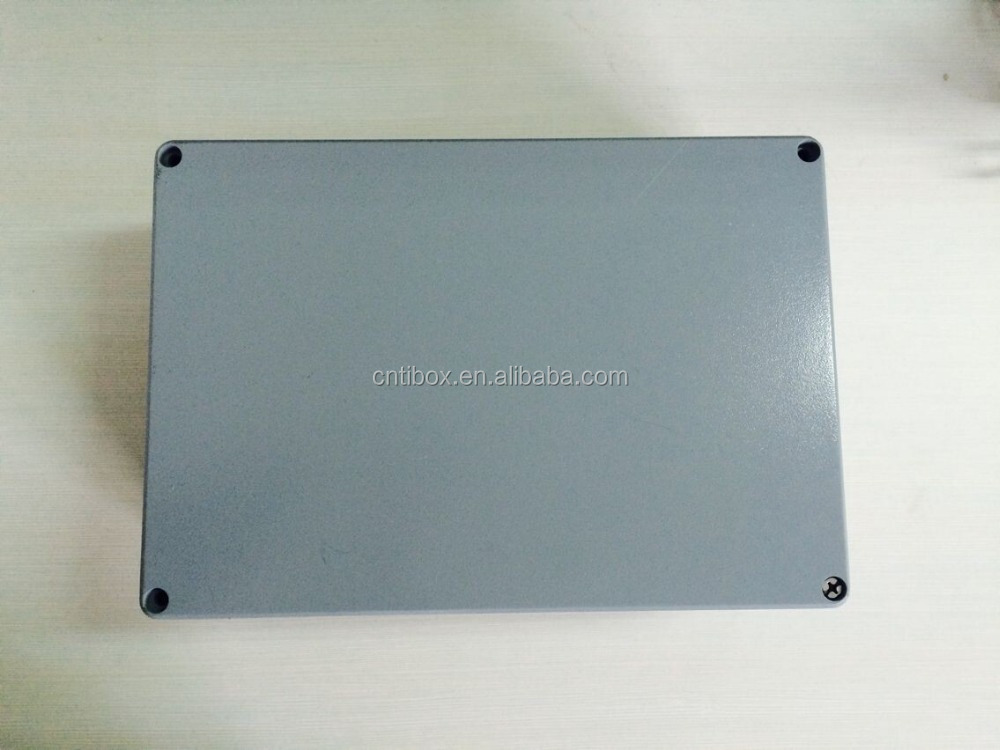 TIBOX Professional precision custom Aluminum electrical junction meter box and enclosures