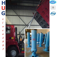 China supplier /Telescopic Hydraulic Cylinder for Dump Truck