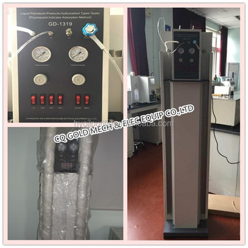 GD-11132 ASTM D 1319 Liquid Petroleum Products Hydrocarbon Tester by Fluorescent Indicator Adsorption