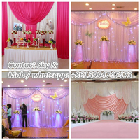 wedding backdrop led ball ring light,circle led glow ball ring,finger ring light for promotion
