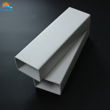 White PVC Pipe Schedule 40 Steel Pipe Plastic PVC Square Pipe