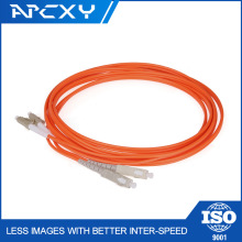 LC-ST/UPC PC Duplex multimode 2.0 3.0mm fiber jumper Patch Cord fiber optic Cable