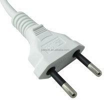 Brazil power cord Inmetro power cord 2 pin Brazil plug 10A 250V with Cable H03VVH2-F2X0.5
