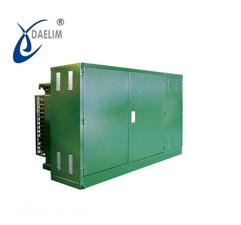 High performance three phase power distribution transformer 33kv substation