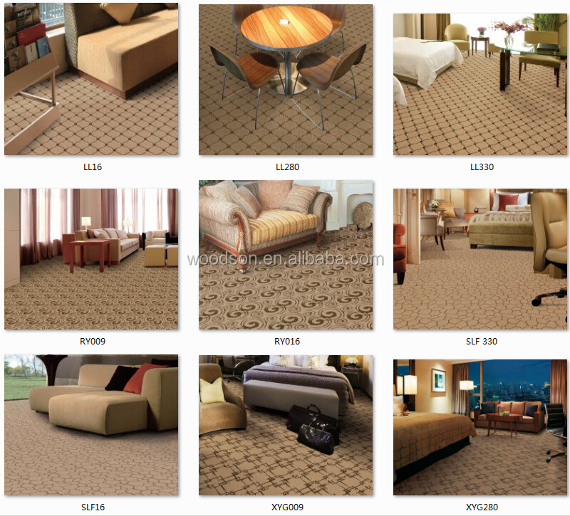WJN-SP104 Tufted Wool Floor Carpet For Bedroom