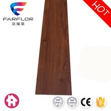 Fireproof sound proof wood texture vinyl plank
