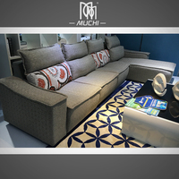 Best Design American Country Big Size Luxury Corner Sofa
