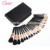 Hot new product custom professioal 29pcs rose gold high quality cosmetic makeup brush set