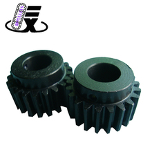 High-end top class alloy flywheel ring for road roller custom industrial straight spur gear