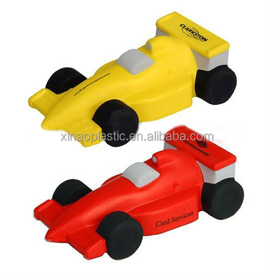 Promotional PU motorbike Shape Stress Ball, Car shaped PU stress reliever