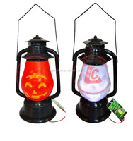 wholesale artificial halloween pumpkin lantern solar halloween lights