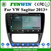 2016 Funwin factory oem car dvd player for VW Sagitar 2013 2014 car stereo multimedia player android 4.4 support 3G wifi