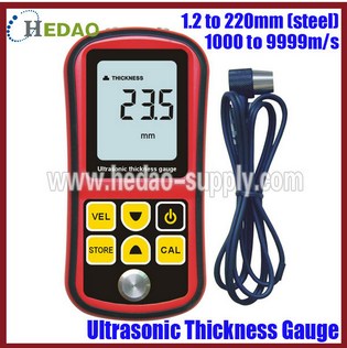 High Quality Digital Wall Ultrasonic Thickness Gauge Thickness Gauge Meter