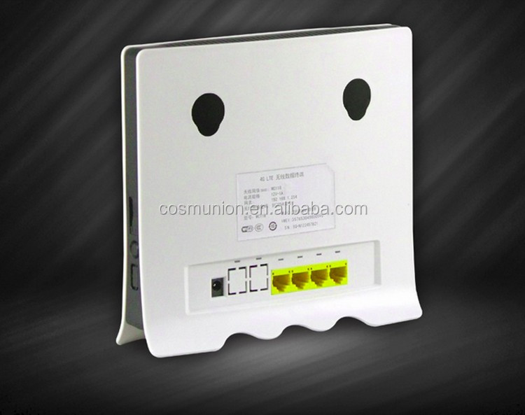 4G LTE indoor CPE Router with SIM Card Slot