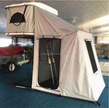 New Design Fiberglass Hard Shell 4wd Roof Top Tents with Annex
