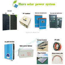 1KW 3KW 5KW Off-Grid Solar Power System, Home Solar Panel Kit 3000W 5000W 10KW Battery For Home