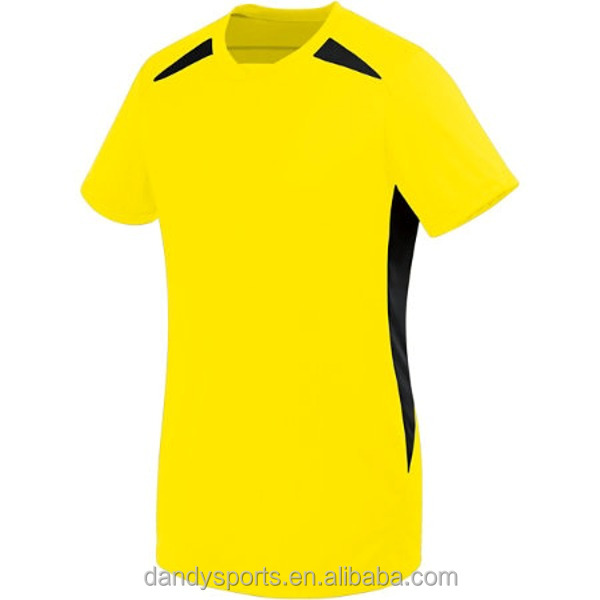 Top Quanlity Custom Plain Football Shirt/Soccer Jersey For Men In Cut And Sewn