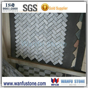 basketweave basket weave stone mosaic tile
