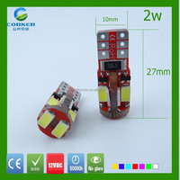 led car reading light canbus 12vdc/ac 2w 27*10mm made in china