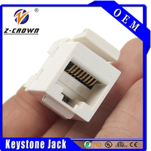 high quality rj45 cat6 utp keystone jack in popularity