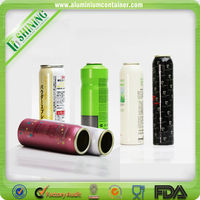 Shampoo packaging small aerosol spray cans 400ml