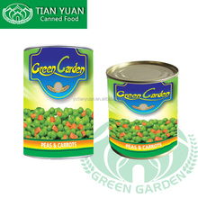 300g400g425g800g3000g canned green peas with carrots