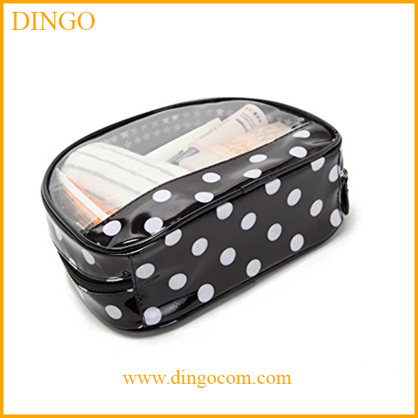 Best Selling Promotional Clear Vinyl Fashion Travel Cosmetic Bag