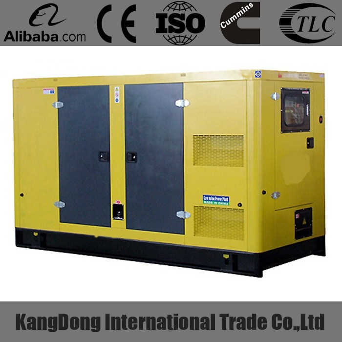 Hot Sale 75kW Weifang Silencer Closed Type Diesel Generator sets