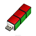 Rubik's cube shape flash memory drive