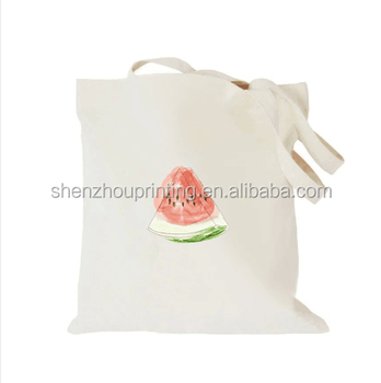 Made in china Fashion Printable Canvas Cotton Bag