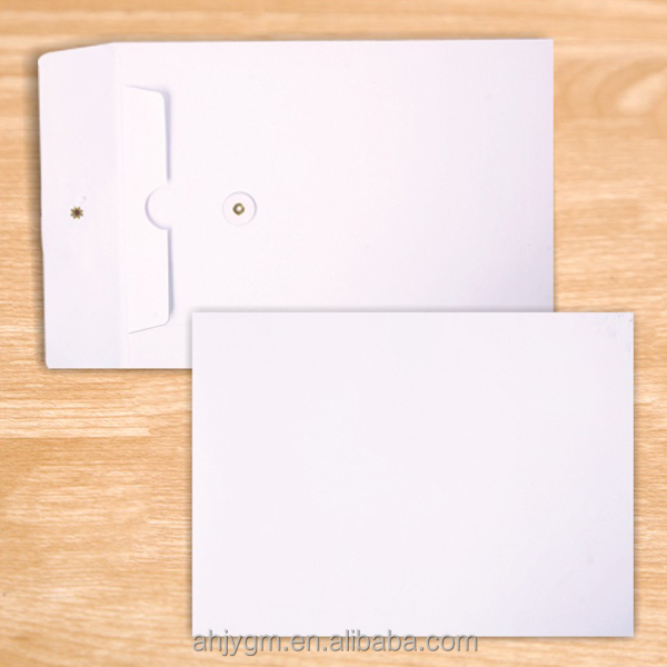 120gsm Import Double Gummed Paper A4 White Envelope with Corn