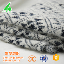 Competitive price nylon polyester plaid coarse knitting hacci fabric