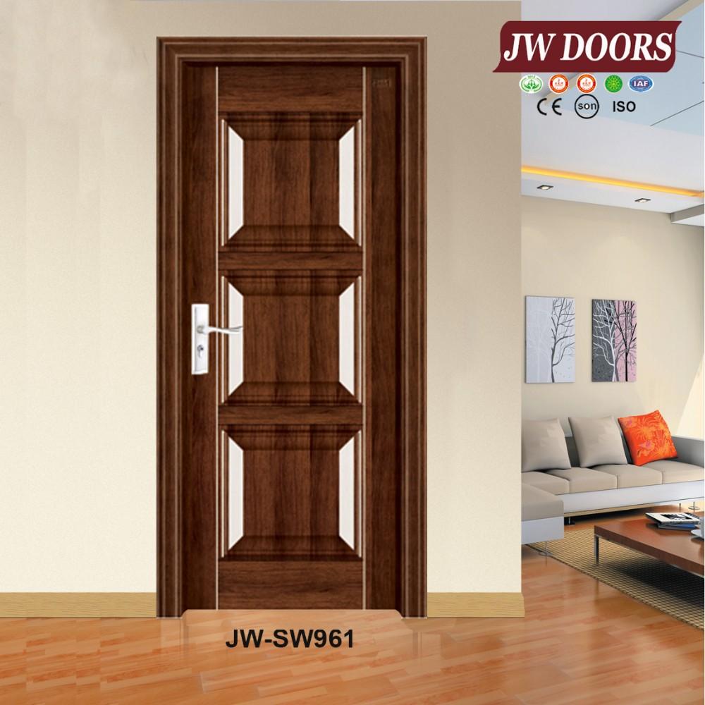 Latest Design Steel Wooden Door Interior Door Room Door Buy