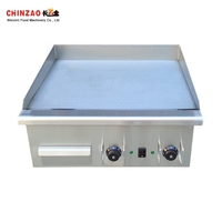 Industrial Electric Griddle Commercial with Iron Flat Top