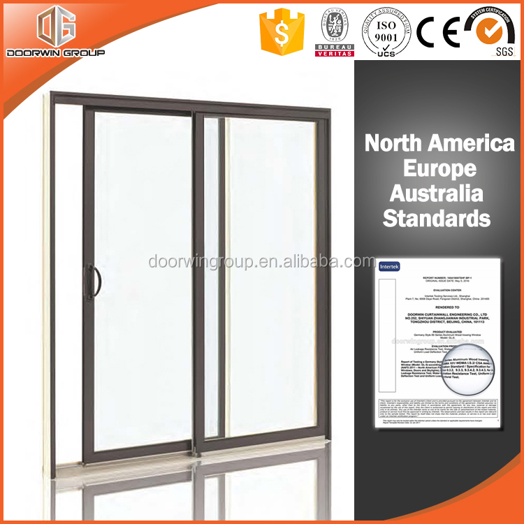 High Quality Thermal Break Aluminum Gliding Window From Windows Factory