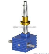 Acme manual opearated worm gear Ball screw jack for lifting platform