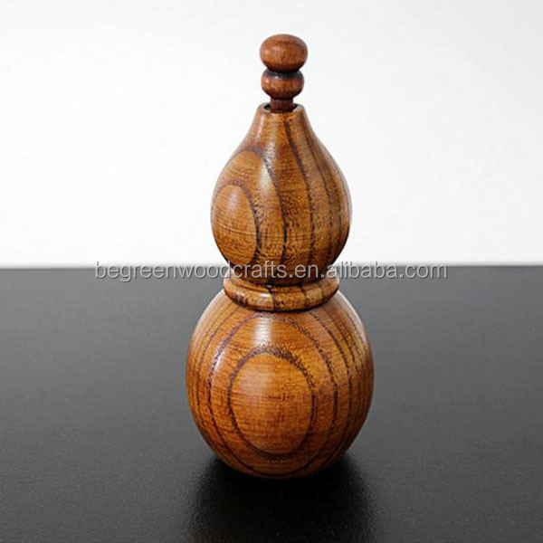 Custom handmade novelty wooden toothpick box gourd shape personalized wooden toothpick holder - Novelty toothpicks ...