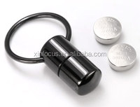 Black Anodized Titanium Vibrating Nipple rings 14 gauge Captive Bead Ring