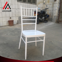 China supplier iron white chiavari metal bamboo chair for wedding party
