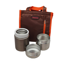 High Quality Double Wall Kids Stainless Steel Lunch Box Set Food Container