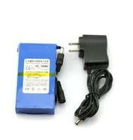 Super Rechargeable li-ion battery 12V 6800mah for GPS,Lan router factory wholesale