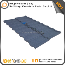 Stone Coated Metal Roofing Sheets Zinc Aluminum Corrugated Sheet used roofing shingles For Sale