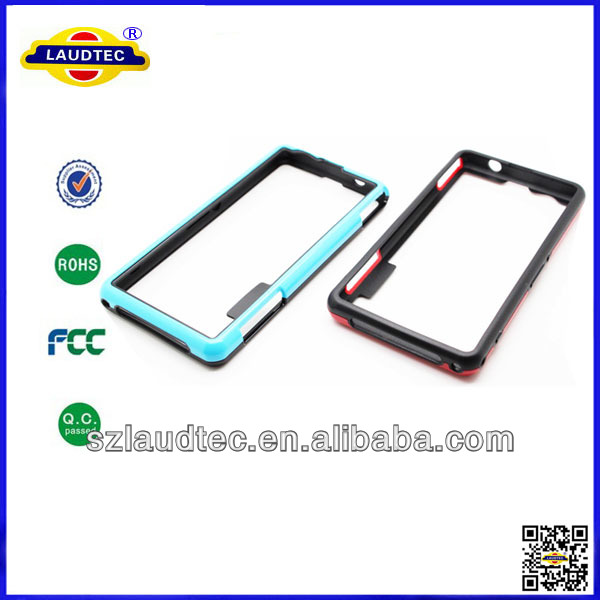 2014 new product, case for sony Xperia Z1 Compact bumper, made in China