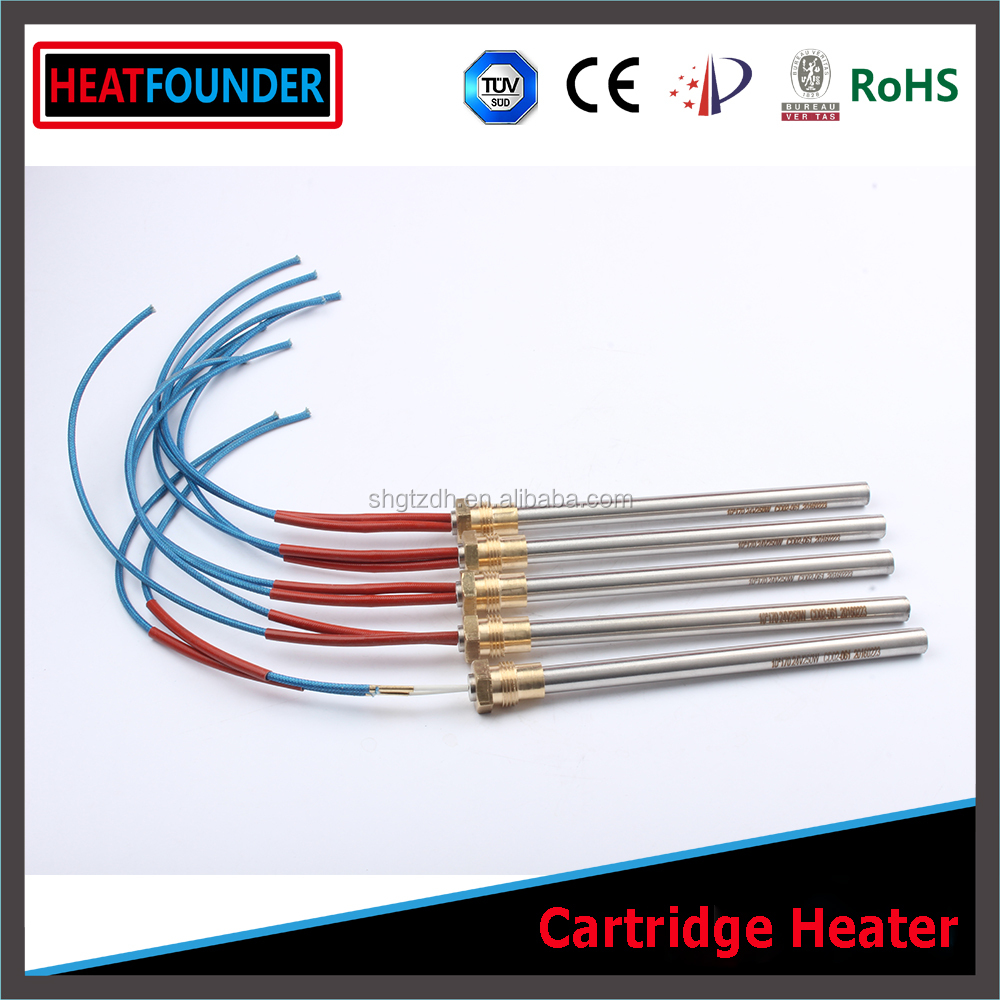 HEATFOUNDER Manufacturer Supplied High Watts Density Mould Cartridge Heating Elements