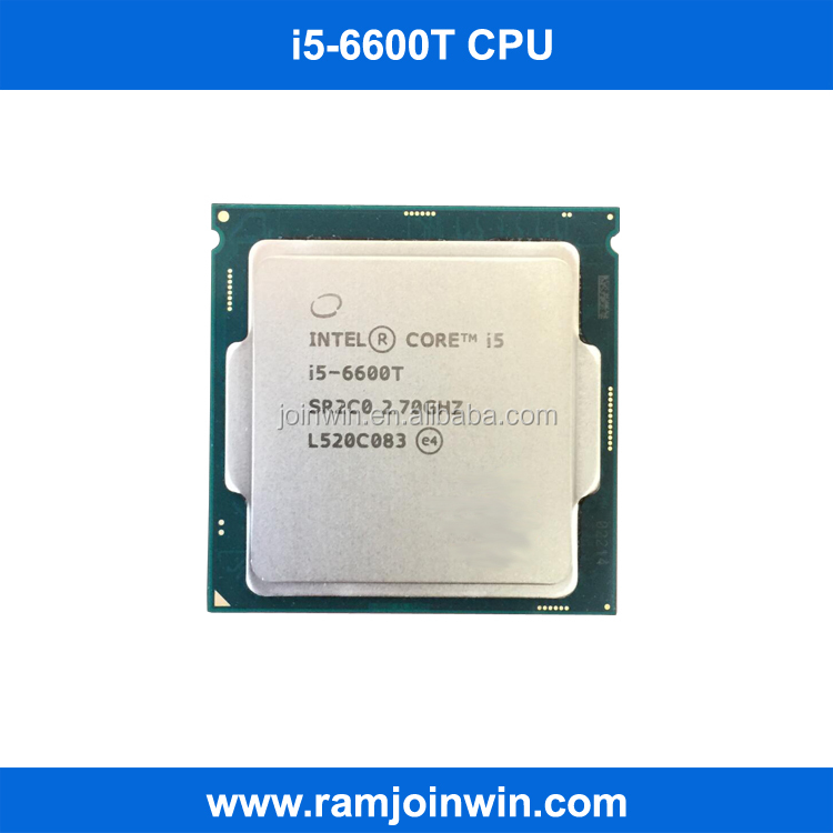 Stock lga1151 socket computer cpu i5 6600T for DDR4 DDR3L