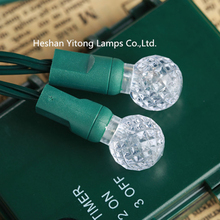 Wholesale high quality IP65 50L G12 globe berry bulb Led fairy string light for outdoor garden
