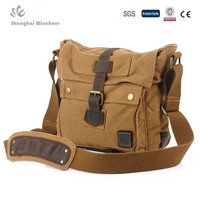 2015 Latest Fashion canvas military bags with made in China